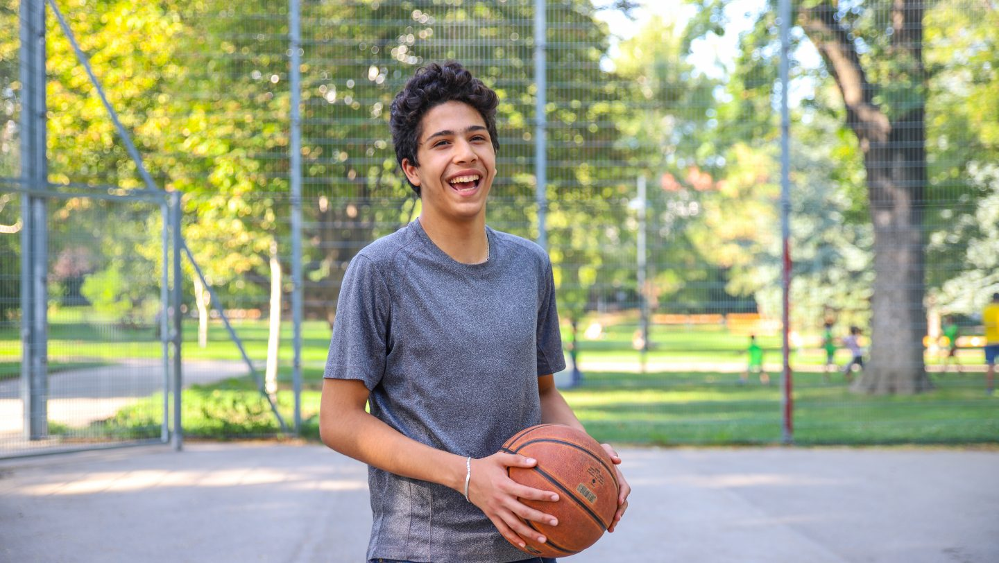 Austria. Amr from Syria dreams of being a journalist to tell the real story (The Dream Diaries)