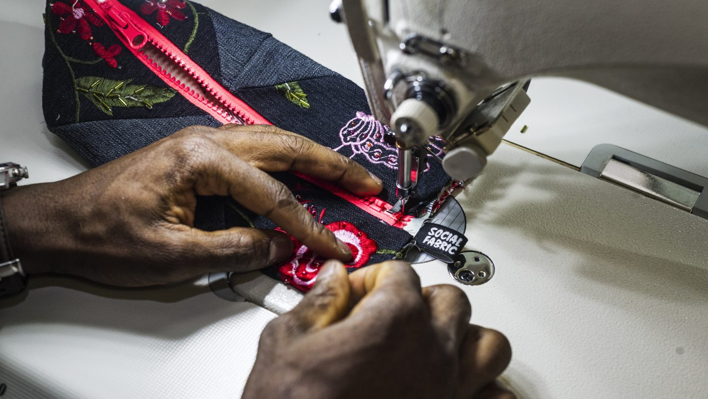 Switzerland. Social Fabric, empowering refugees through textile design and production