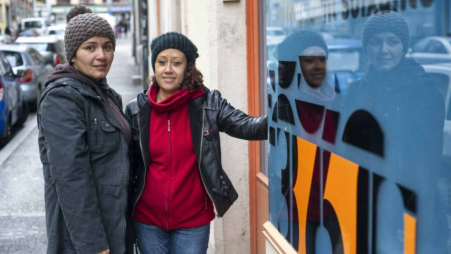 Switzerland. Natalia and Lisette find a haven in Geneva, with support from LGBTI rights organisation.