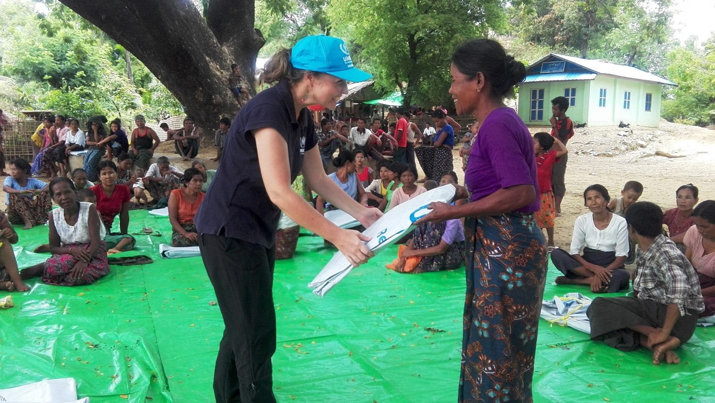 NFI distribution in Buthidaung 2016