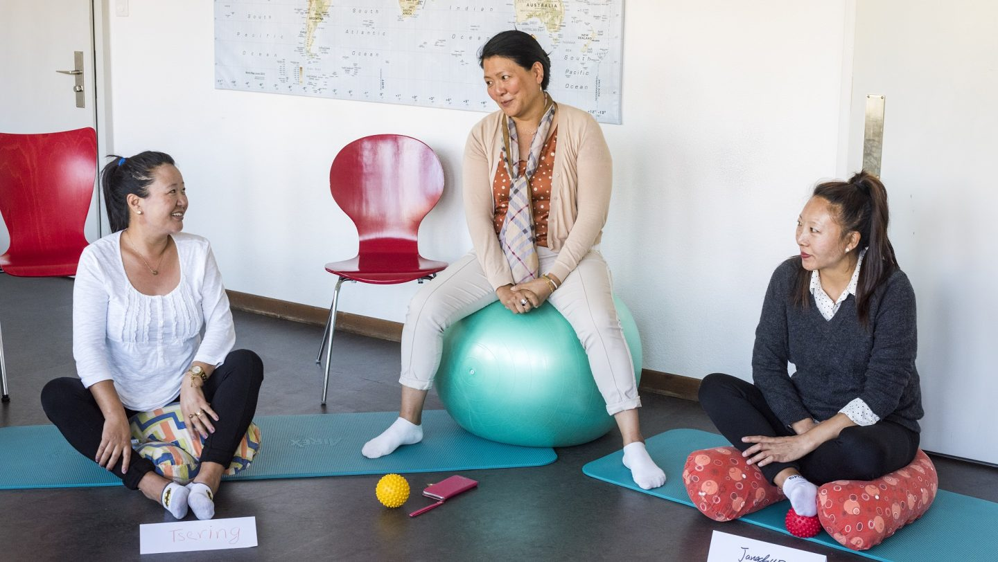 Switzerland. Pre-natal classes for refugee and migrant women, protecting their and their babies health