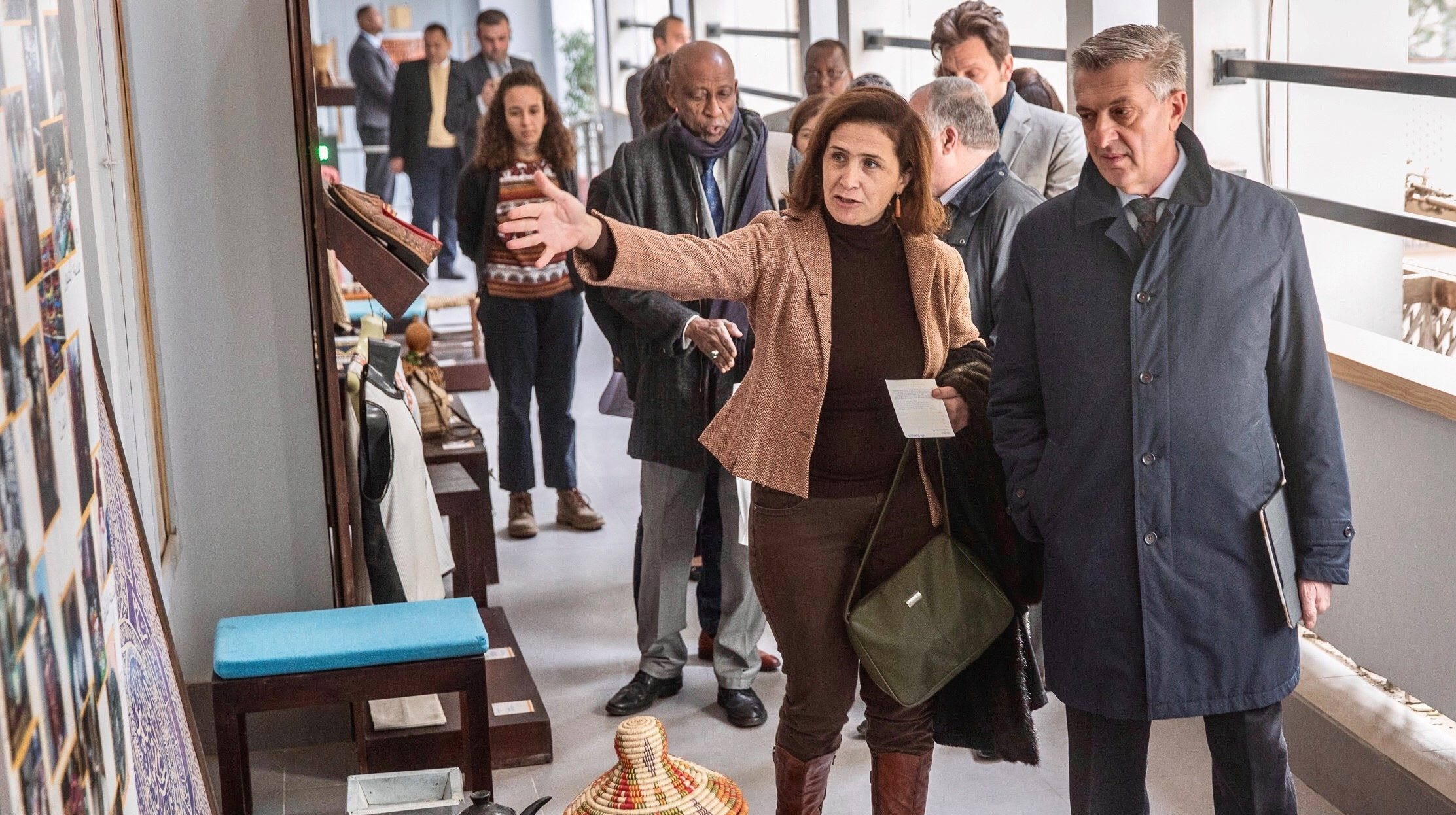 UN refugee chief in Egypt on first official visit in 2019
