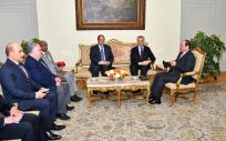 UN Refugee Chief meets Egypt President and Secretary General of the Arab League