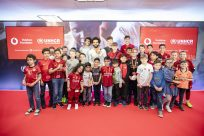 Mohamed Salah joins up with Vodafone and UNHCR as first Instant Network Schools Ambassador