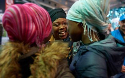 Warmth of a mother's hug: Ghana teenagers reunited with their mother in Montenegro after five years of separation