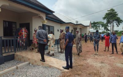 UNHCR Hands Over Two-Bedroom Accommodation Facility to Ghana Police Service in Bono Region
