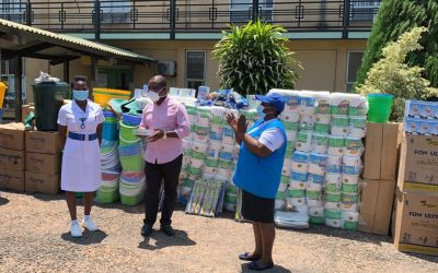 UNHCR donates PPEs and Hygiene Products to Health Facilities in support of National Covid-19 Response Efforts