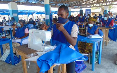 'Masks for Refugees by Refugees' project takes off in Ghana