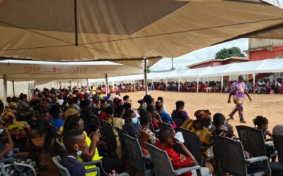 Community Outreach events held for out-of-camp refugees in Ghana