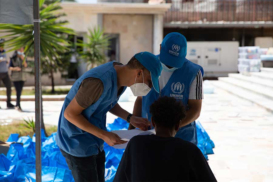 UNHCR's engagement in situations of internal displacement
