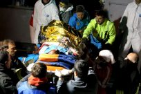 Burns victims rushed for treatment in Lampedusa after high seas ordeal