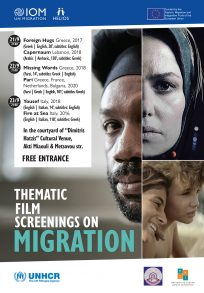 Thematic film screenings on migration