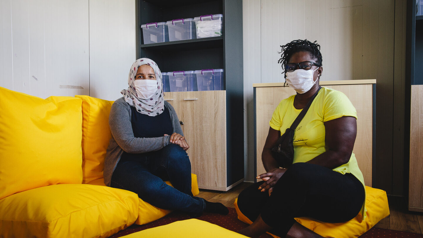 Greece. Women asylum-seekers help victims of sexual and domestic violence