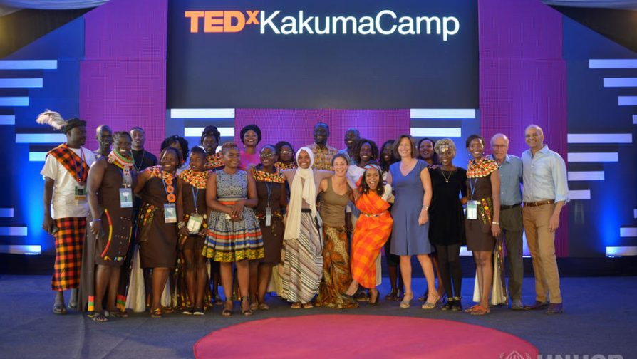 Refugee speakers steal show at historic TEDx event