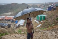Heavy monsoon rains drench Rohingya sites in Bangladesh