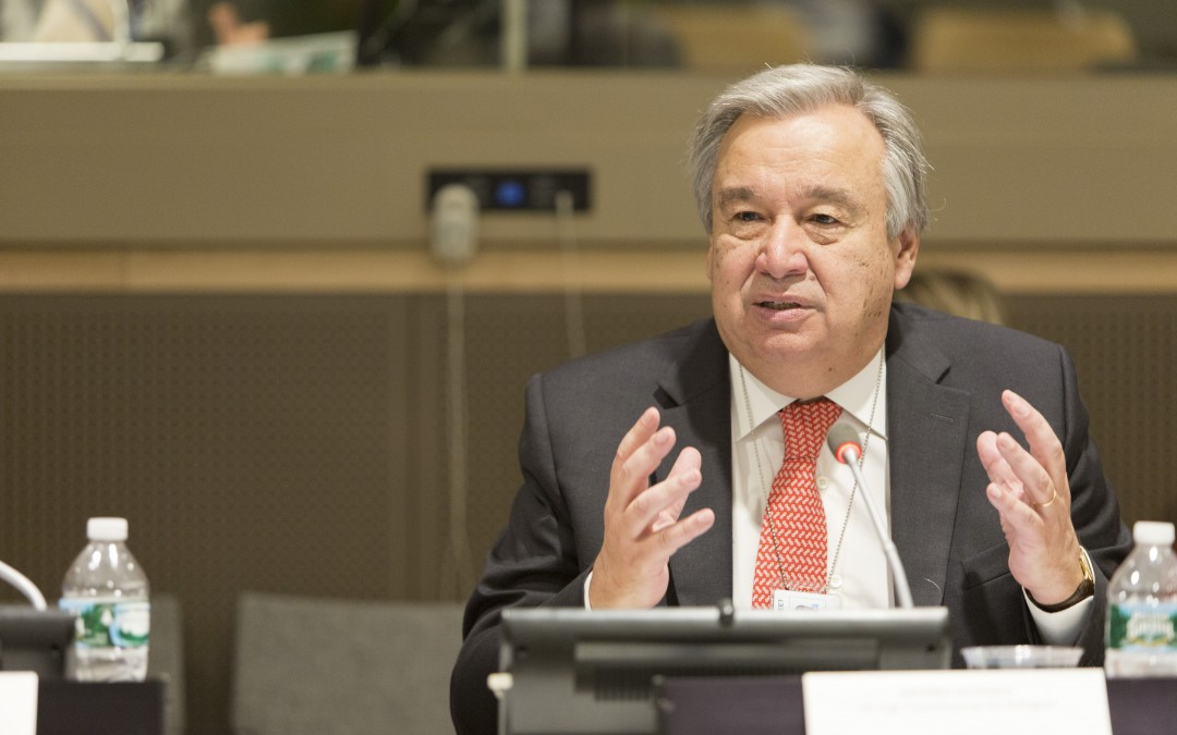 UNHCR High Commissioner António Guterres urges a united response to end statelessness