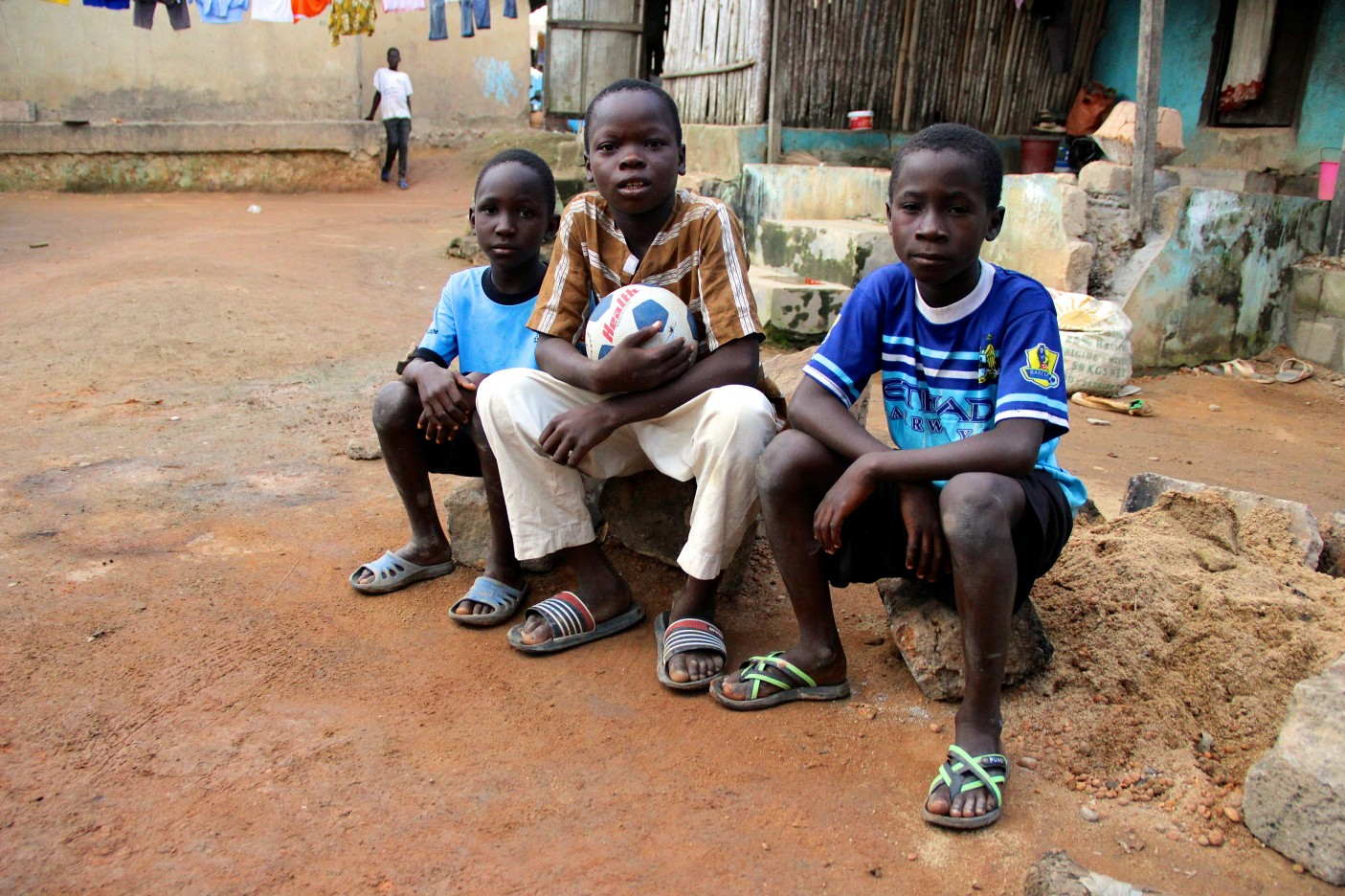 Côte d'Ivoire. Issa Stateless Children
