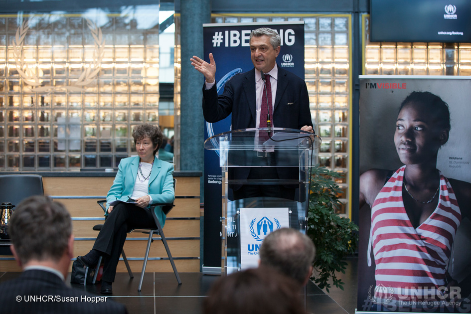 Switzerland. UNHCR commemorates 2 years of the #IBelong campaign to end global statelessness