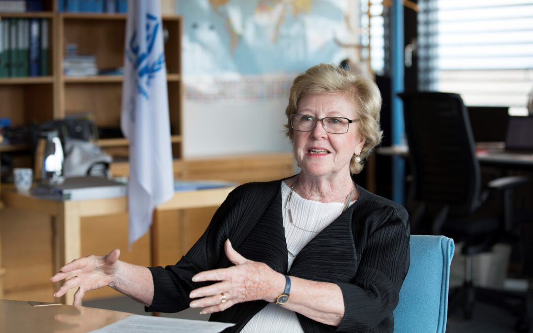 Interview with Gillian Triggs, Assistant High  Commissioner – Protection