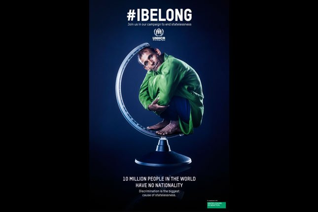 Belize helps everyone have the right to say #IBelong