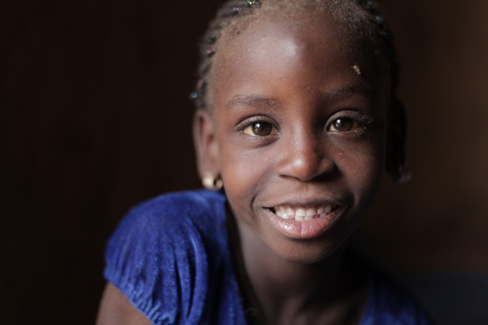 Mauritanian refugees born in Mali like this girl had been at risk of statelessness.