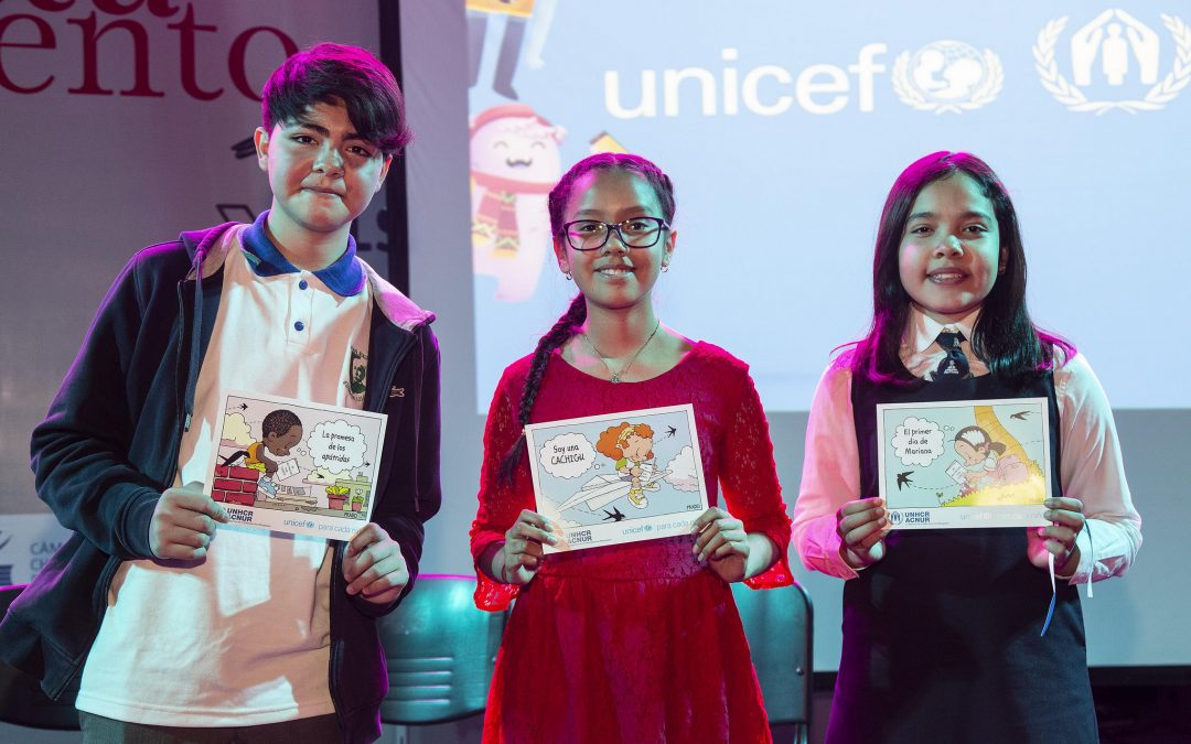 "Chile: ""Mi Nacionalidad Tiene Cuento"" contest receives amazing stories on the importance of nationality from children"