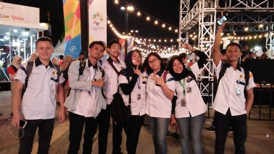 Refugee teenager gets once-in-a lifetime experience as a volunteer in Asian Games 2018