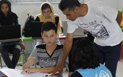 Refugee teacher empowers youth in Indonesia