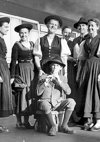 Maria Agusta von Trapp and family