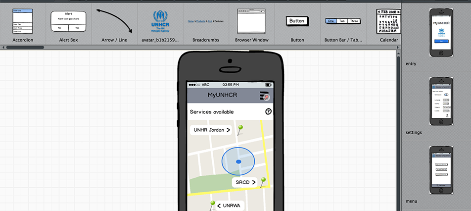 Informational App for Syrian Refugees