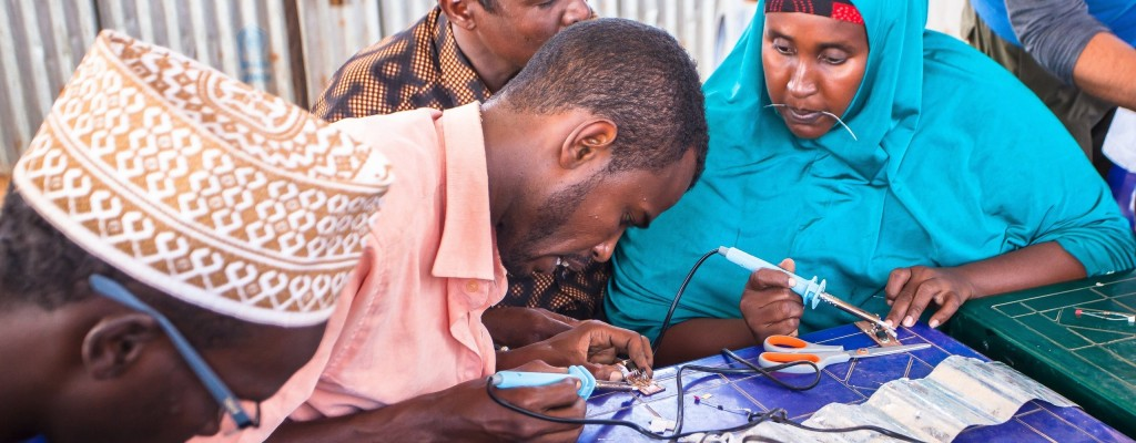 How I began manufacturing solar lights for my community