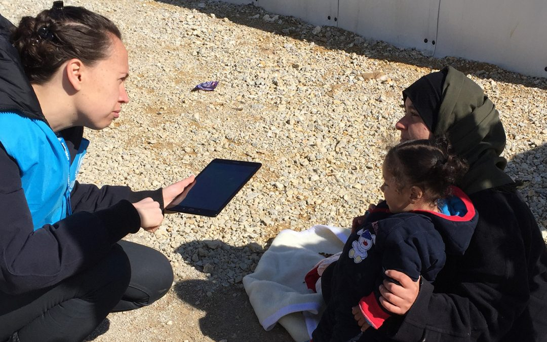 Making sure refugees aren't lost in translation – with one simple app