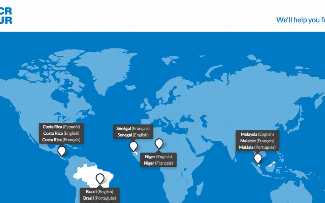 Help.unhcr.org: a platform for asylum seekers to access information