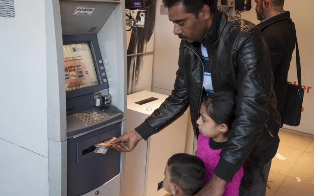 Using biometrics to bring assistance to refugees in Jordan