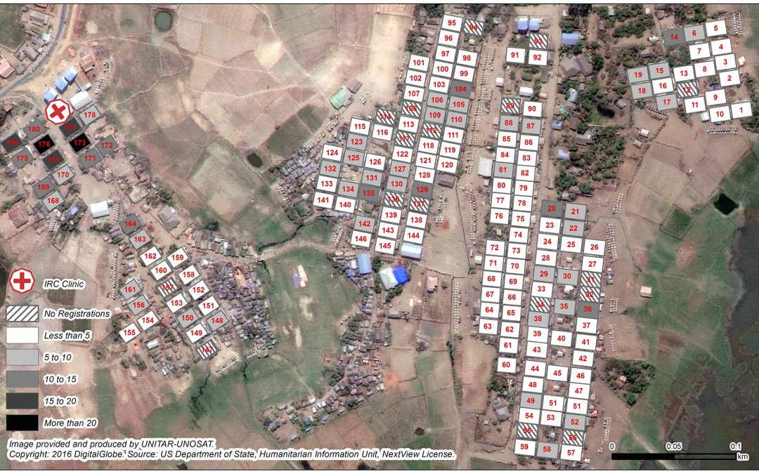 Implementing a geo-spatial health information system to better understand access to health care