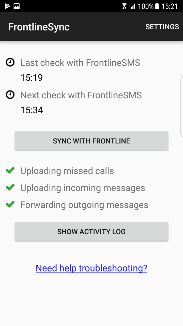 Set up a system to manage two-way SMS in two minutes - UNHCR Innovation