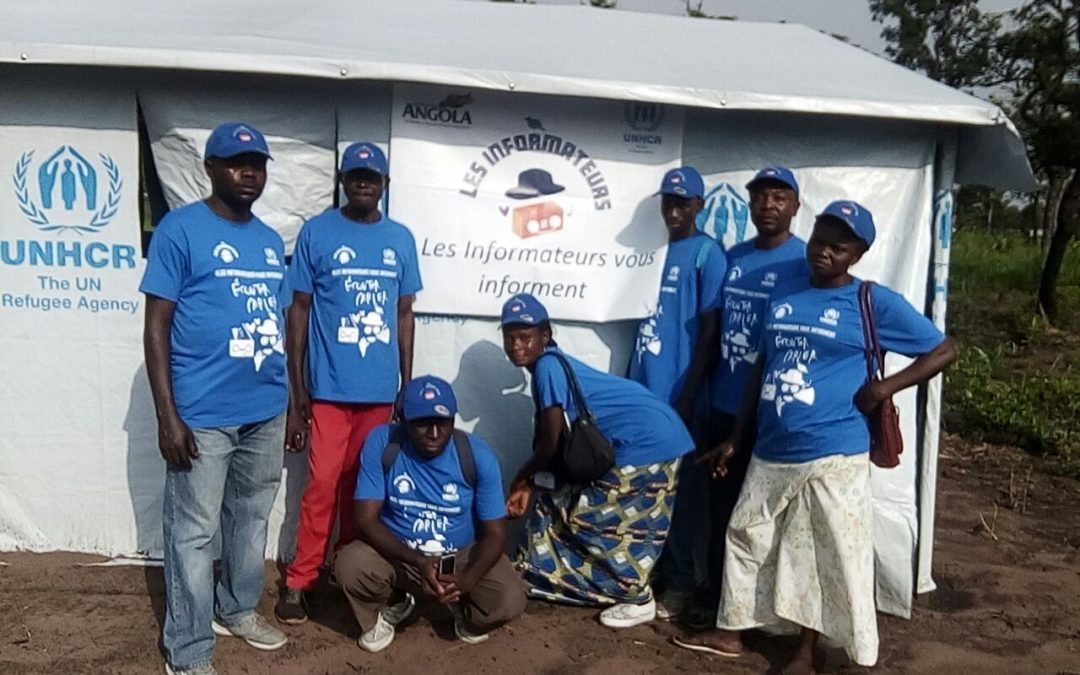 Communication by refugees, for refugees, in Angola