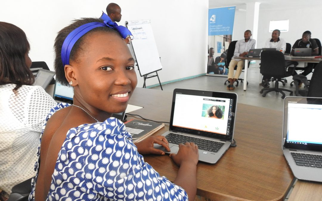 Learning how to code gives young refugee woman a chance for a brighter future