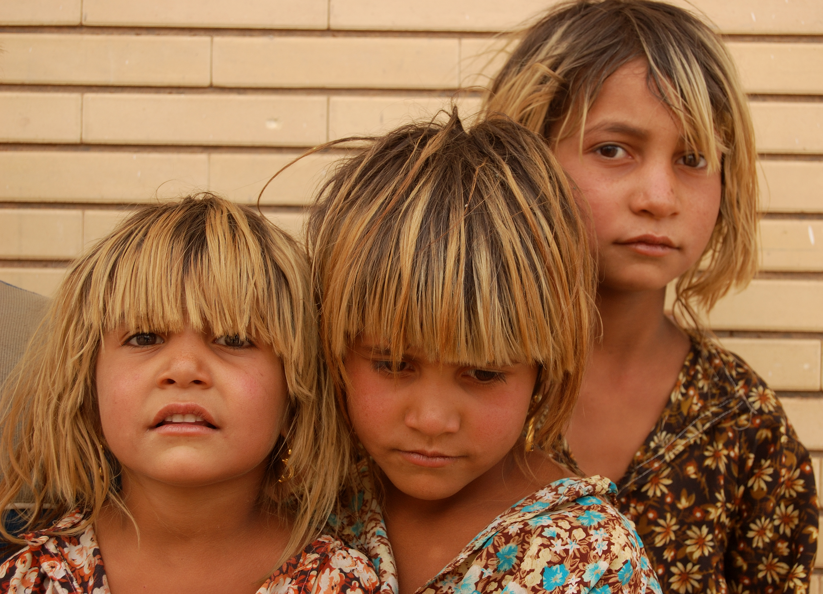 Iran.Three Iraqi refugee sisters