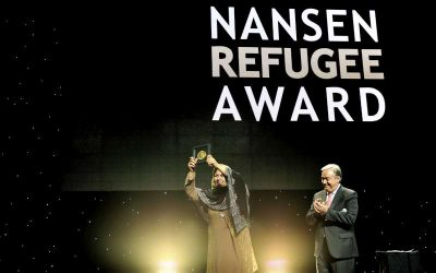 UNHCR names Afghan refugee teacher Aqeela Asifi its 2015 Nansen Refugee Award winner