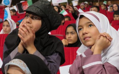 Refugee Child Protection event brings fun and laughter to Afghan refugees children in Tehran