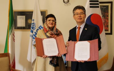 The Republic of Korea continues to support humanitarian assistance to Afghan refugees in Islamic Republic of Iran