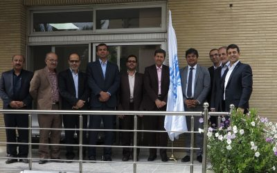 Opening ceremony of Esfahan's  newly relocated Field Unit