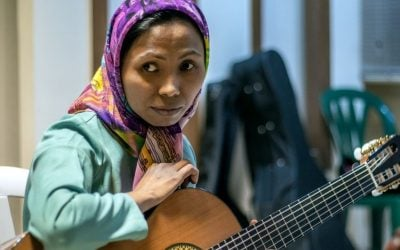 Music helps blind Afghan refugee dream, one note at a time