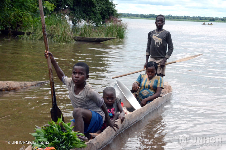 Central African Republic. Aid reaches Congolese refugees in remote village