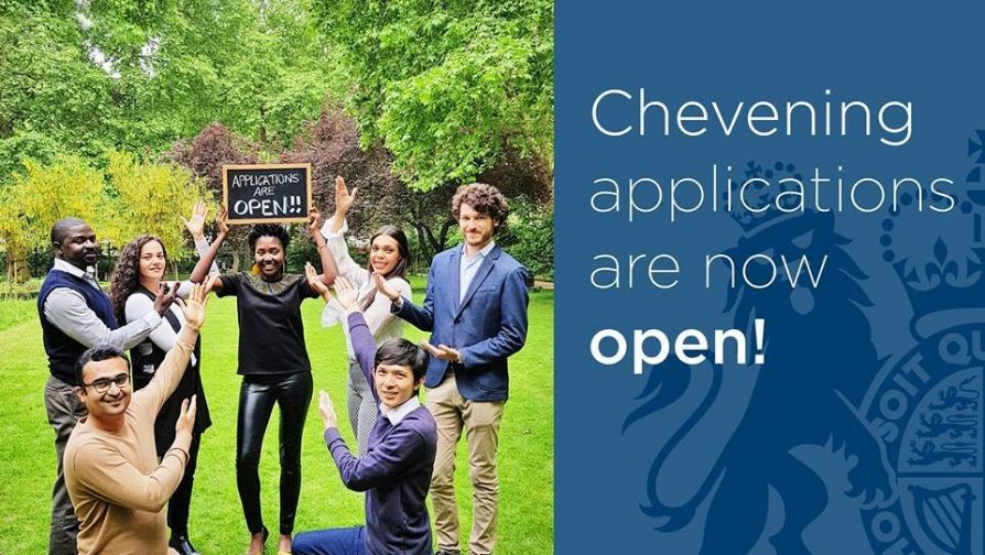 Call for Applications to the Chevening Scholarship