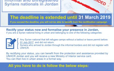 Rectification of Status Campaign: Extension of the Deadline