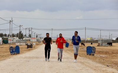 """UNHCR Jordan launches the """"2 Billion Kilometres to Safety"""" Campaign at the Dead2Red Running Race"""