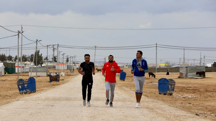 "UNHCR Jordan launches the ""2 Billion Kilometres to Safety"" Campaign at the Dead2Red Running Race"