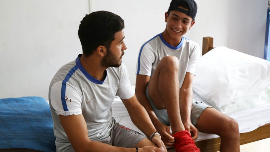 From Zaatari to Rio: Syrian refugees train to be professional football players in Brazil